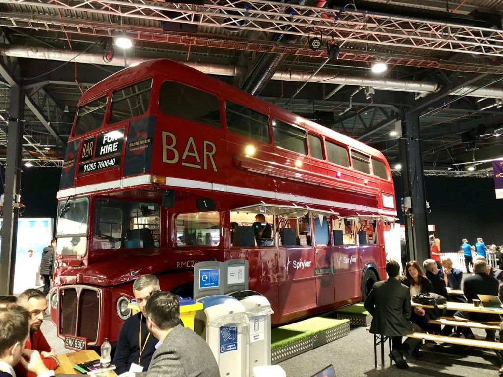 The Bus Bar at Marketing Show North