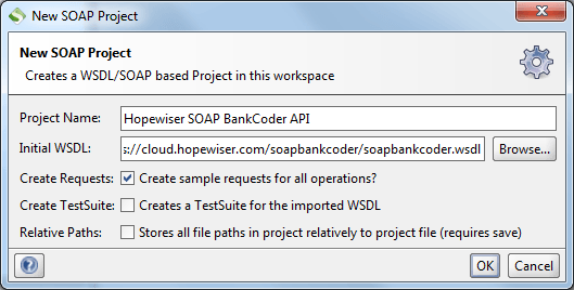 Soap Bankcoder New Project