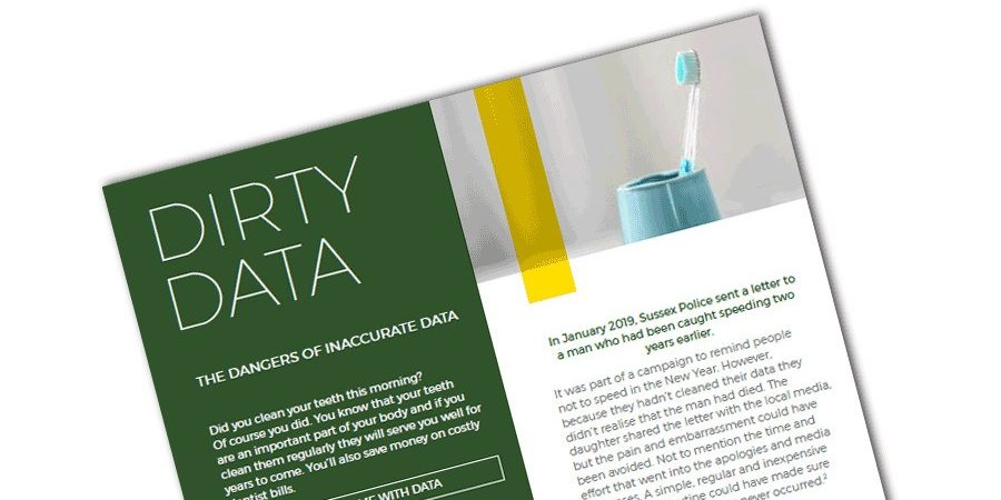 Free Guide: How Dirty Data Can Damage Your Organisation's Reputation?