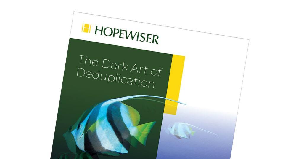 Dark Art of Deduplication